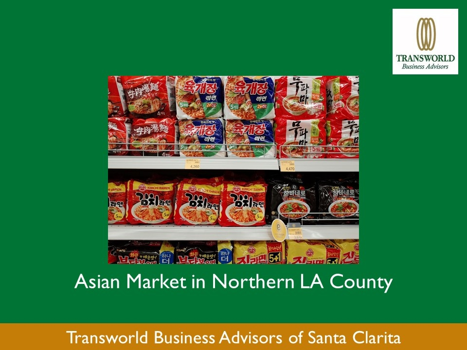 Asian Market in Northern LA County