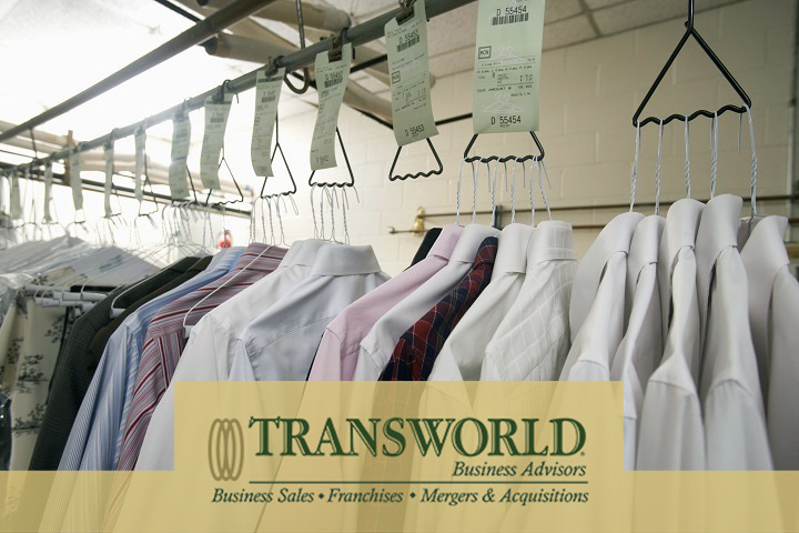 Busy Dry Cleaner Store For Sale with Plant, Only $50k Dn