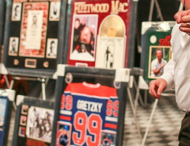 Charity Consignment of Sports and Celebrity Memorabilia For Sale!