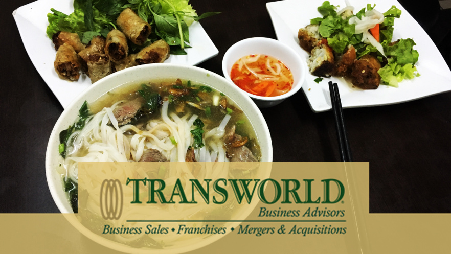Opportunity. Asset Value. Brand-new Vietnamese Restaurant