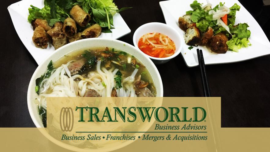 Opportunity. Asset Value. Brand-new Vietnamese Restaurant