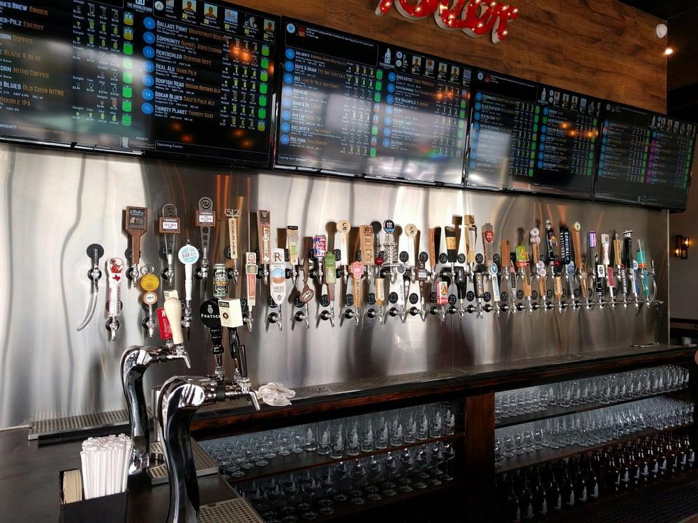 First Class Portland Growler Bar