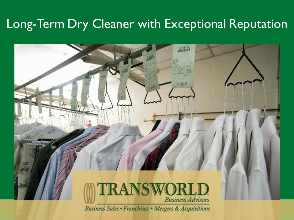 Long Term Dry Cleaner with Exceptional Reputaiton