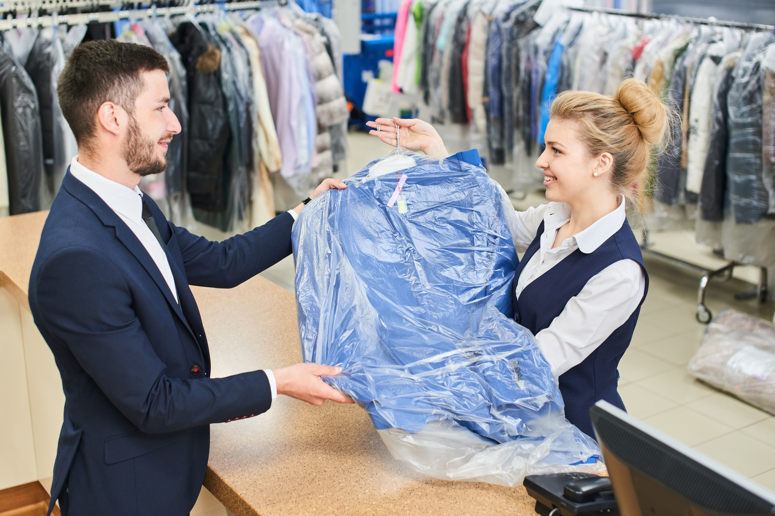 Profitable Dry Cleaner - Drop and Plan Locations