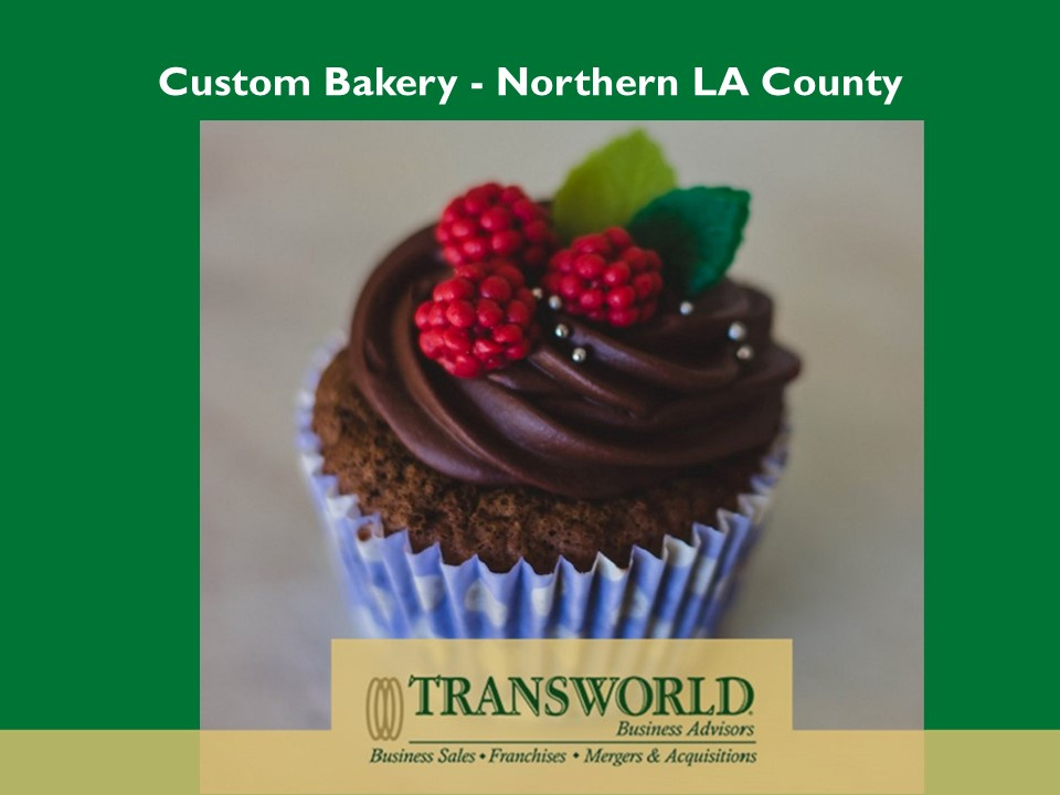 SOLD-Custom Bakery Northern LA County