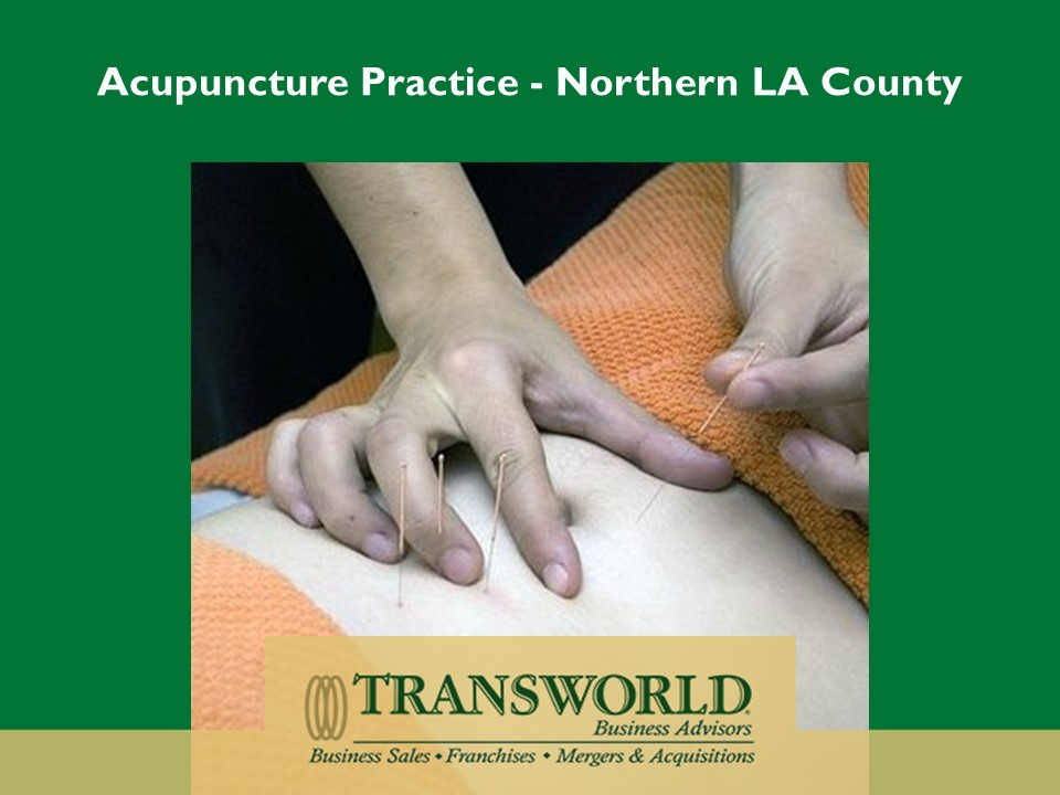 Acupuncture Practice in Northern LA County