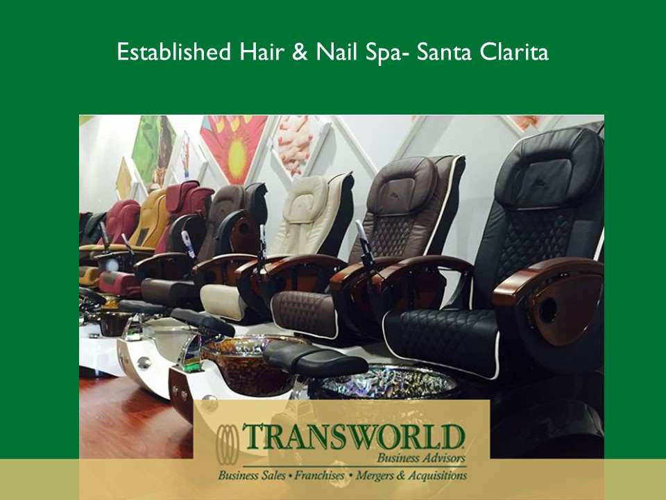 Establish Hair and Nail Spa for Sale