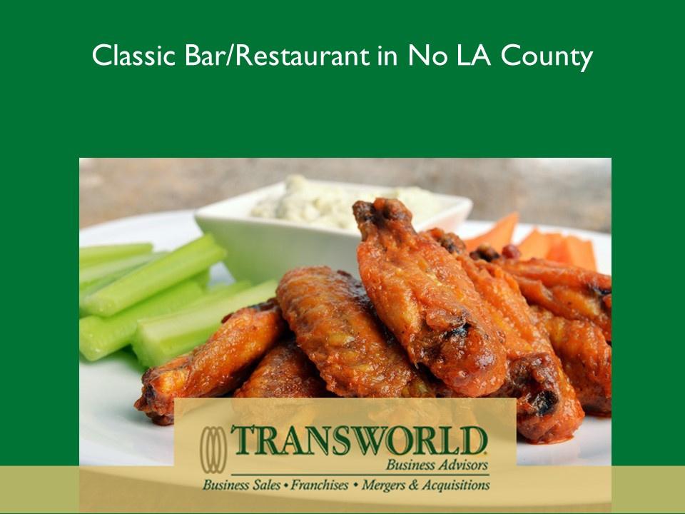 Classic Bar/Restaurant in No LA County