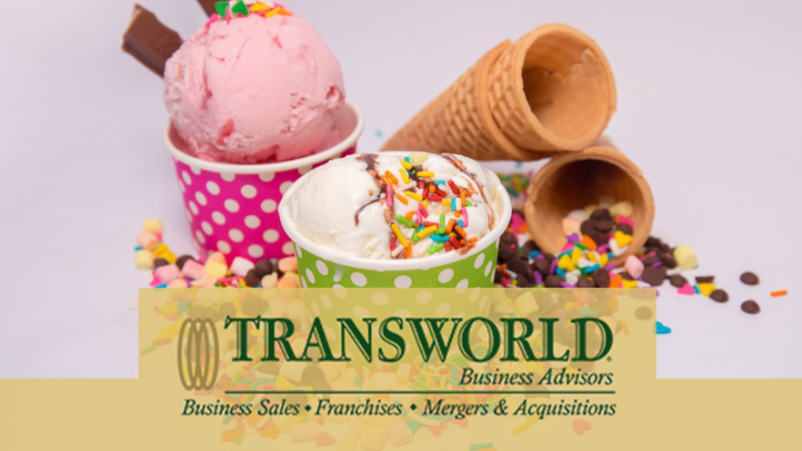 Franchise Ice Cream Store In North of Houston, Low Price