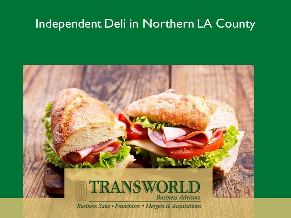 Deli in Northern LA County