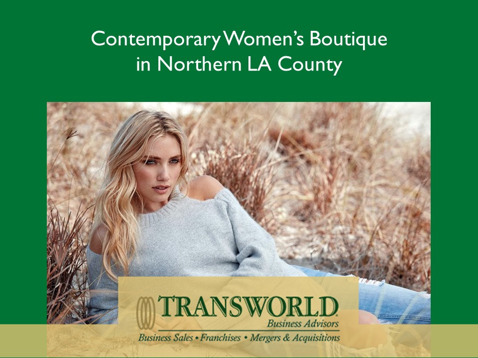 Contemporary Women's Boutique in No LA County