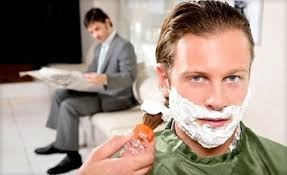Upscale Men's Hair Salon in High Traffic Area