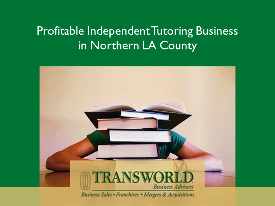 Profitable Independent Tutoring Business in No. LA County