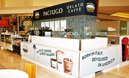 "Italian Gelato Mall Storefront FOR SALE!  Own a ""Cold Mine""!"