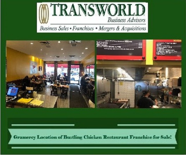 Fantastic + Flavorful Fast Casual Chicken Restaurant for Sale