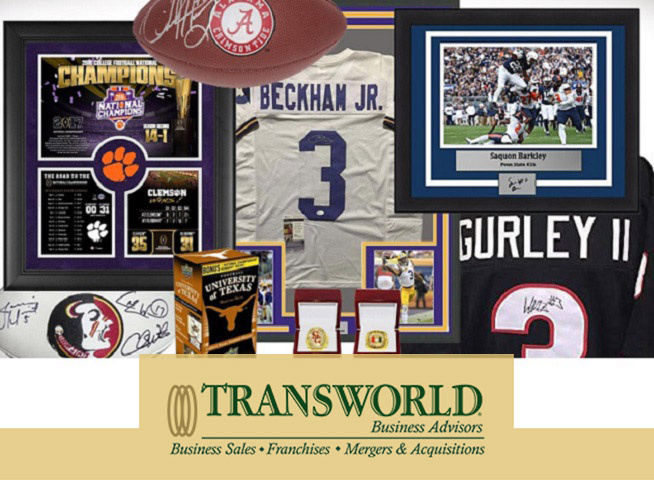 North Georgia Sports Memorabilia Gold Mine.