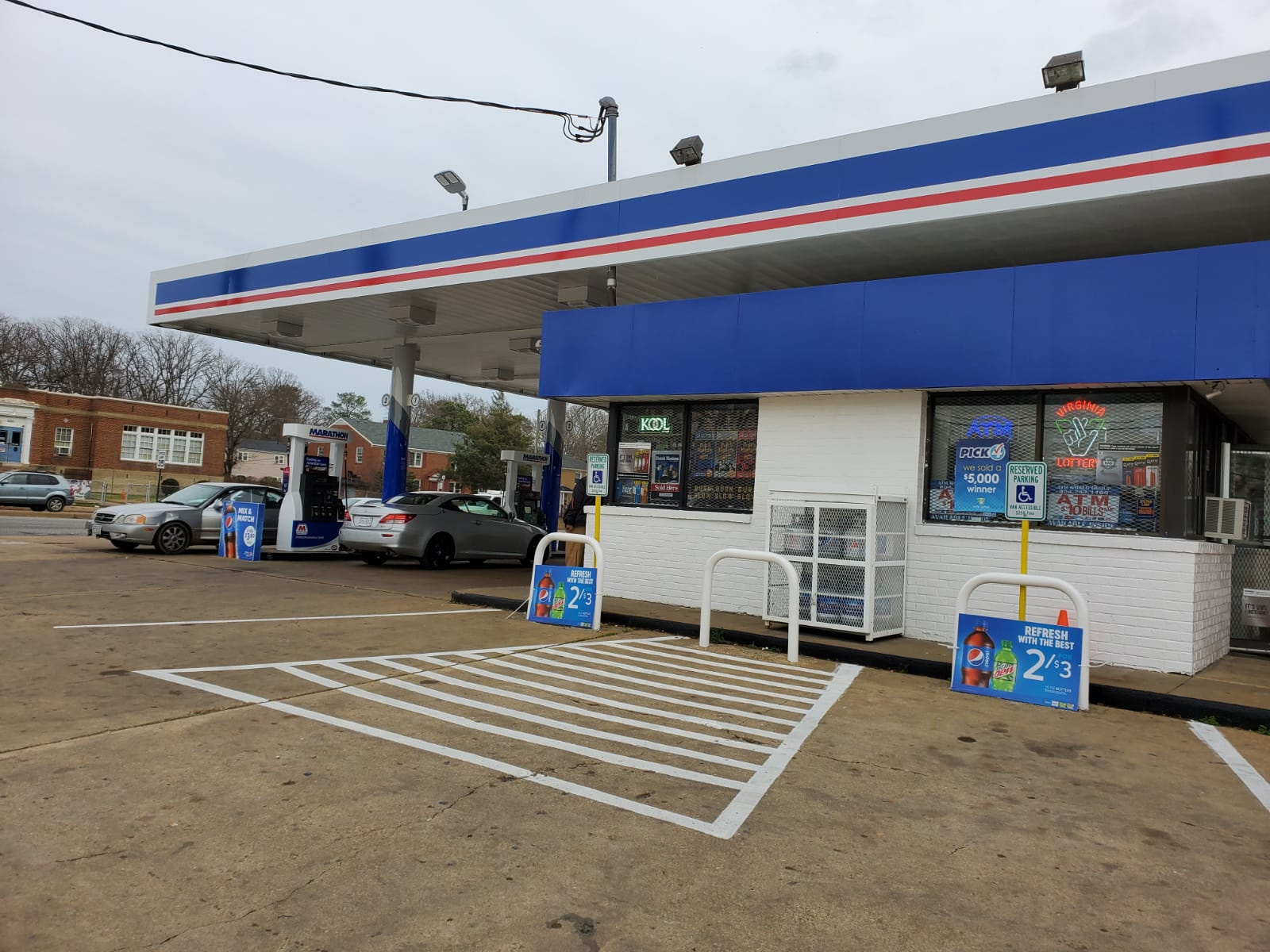 Very Profitable Gas Station with Property in Richmond 884448-RB