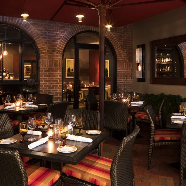 Turnkey, romantic eatery featuring elevated Italian classics