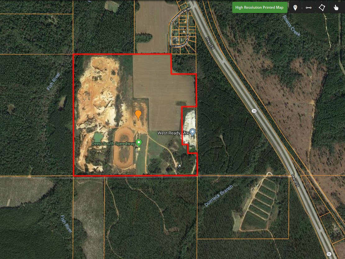 149 Acre Development Tract w/ Dirt Pit!