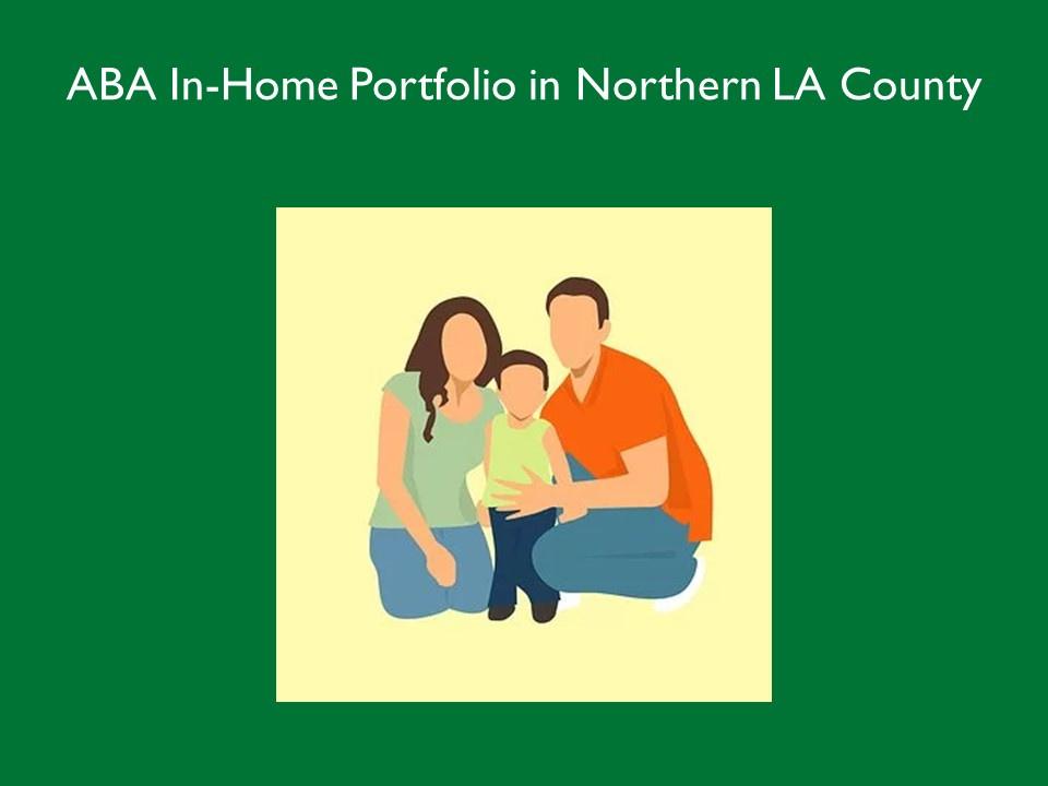 ABA In-Home Portfolio in No LA County