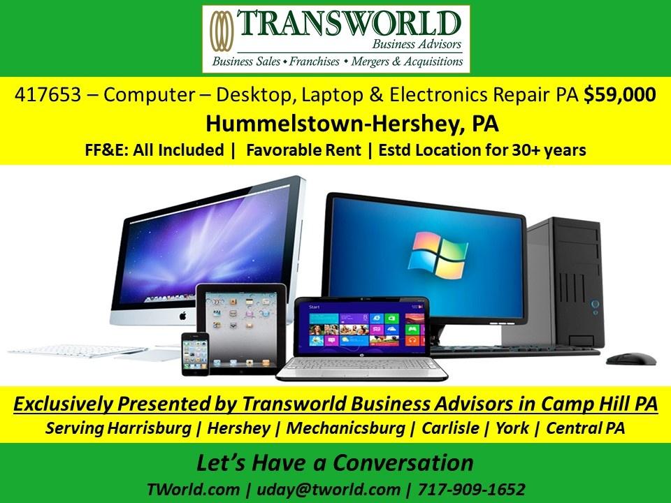 Computer Repair Services in Harrisburg-Hershey PA