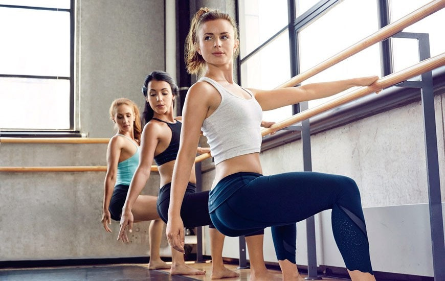 Upscale Barre and Fitness Studio in San Francisco