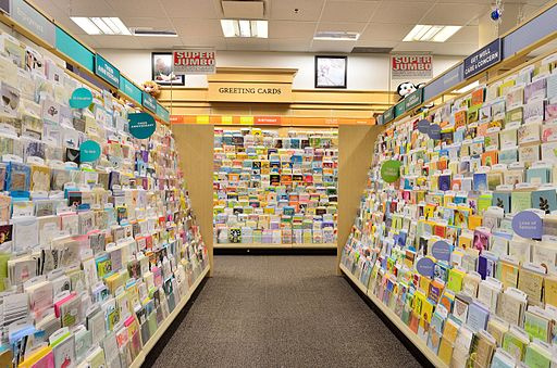 Well Known Brand Greeting Cards and Gift Store