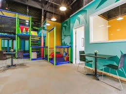 Cafe for adults and kids, with Indoor Jungle Gym