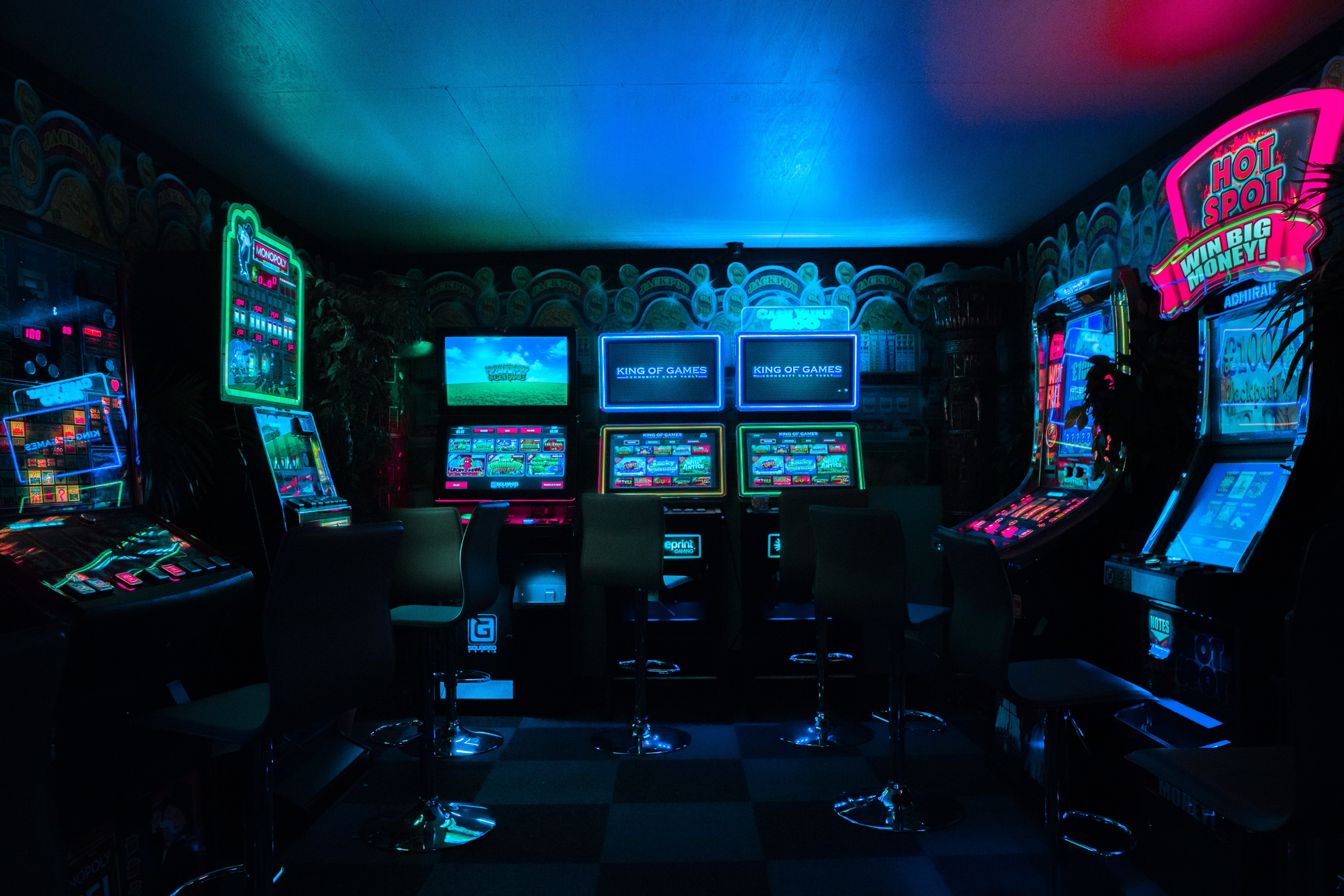 Arcade in Palm Beach County