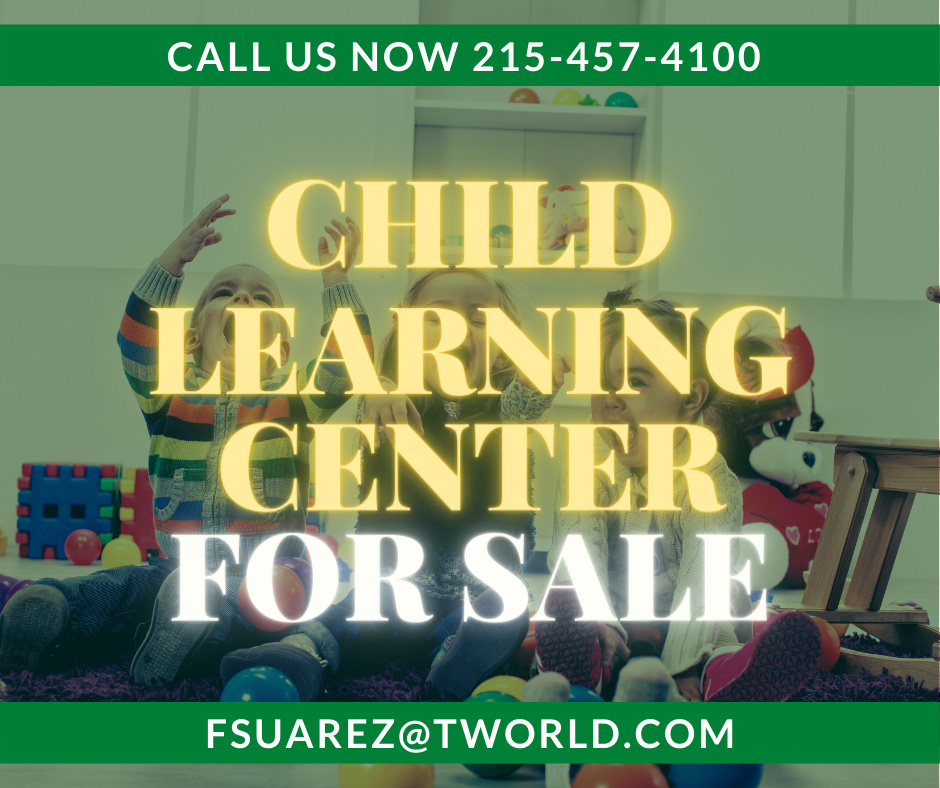 Child learning center for sale just $115.000