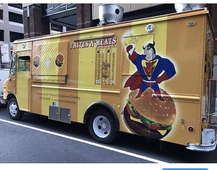 Popluar Brooklyn Food Truck - Frites N Meat