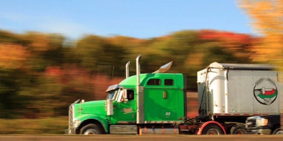 Trucking Company Hauling Freight