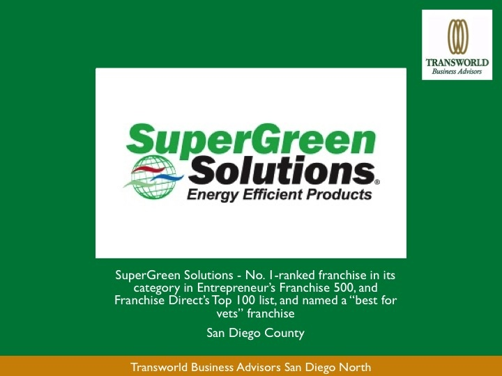 SuperGreen Solutions Energy Efficient Products