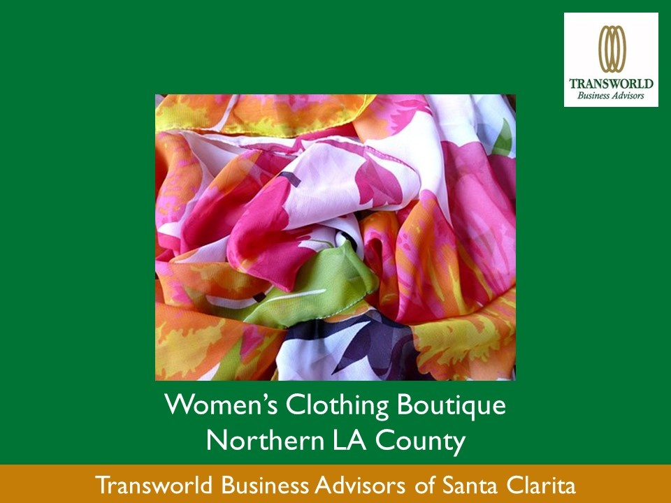 Womens Clothing Boutique Northern LA County