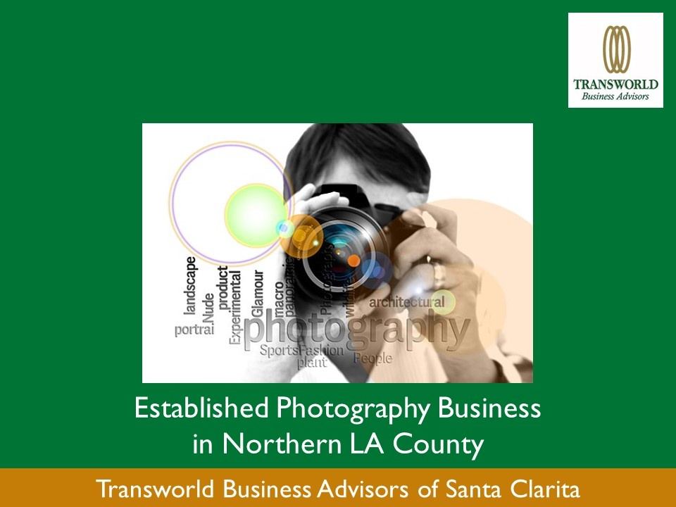 Established Photography Business in Northern LA County