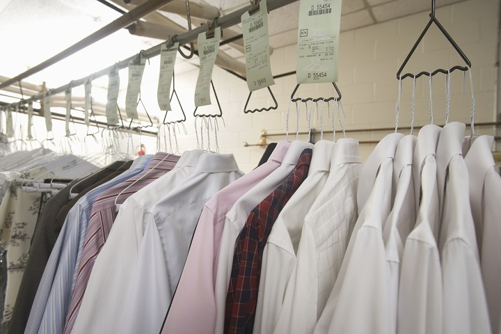 9 Year Old Dry Cleaning Plant and Two Drop Stores For Sale