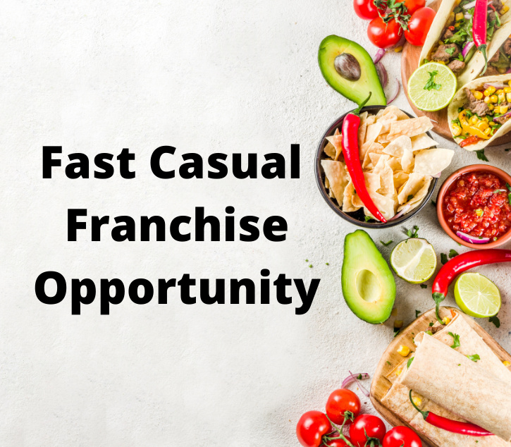 Fast Casual Mexican Grill Franchise Opportunity