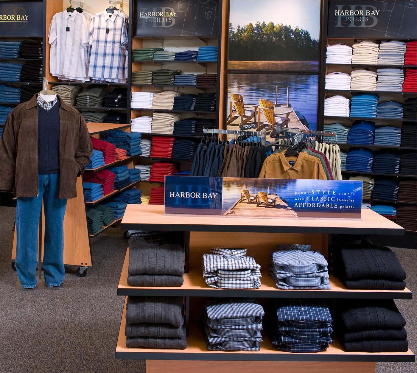 This apparel store is in a perfect spot-Suffolk County