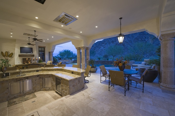 Custom Outdoor Living Contractor with Real Estate