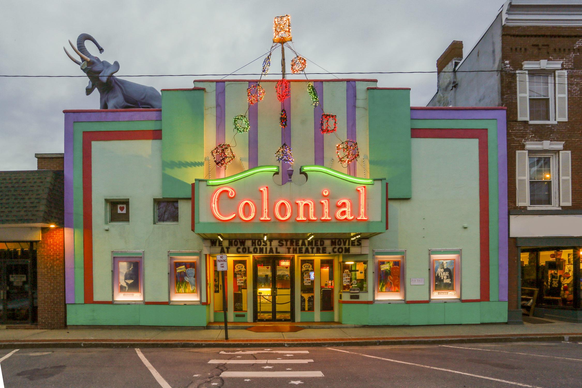 Classic Movie Theatre in Vibrant Downtown Belfast Maine
