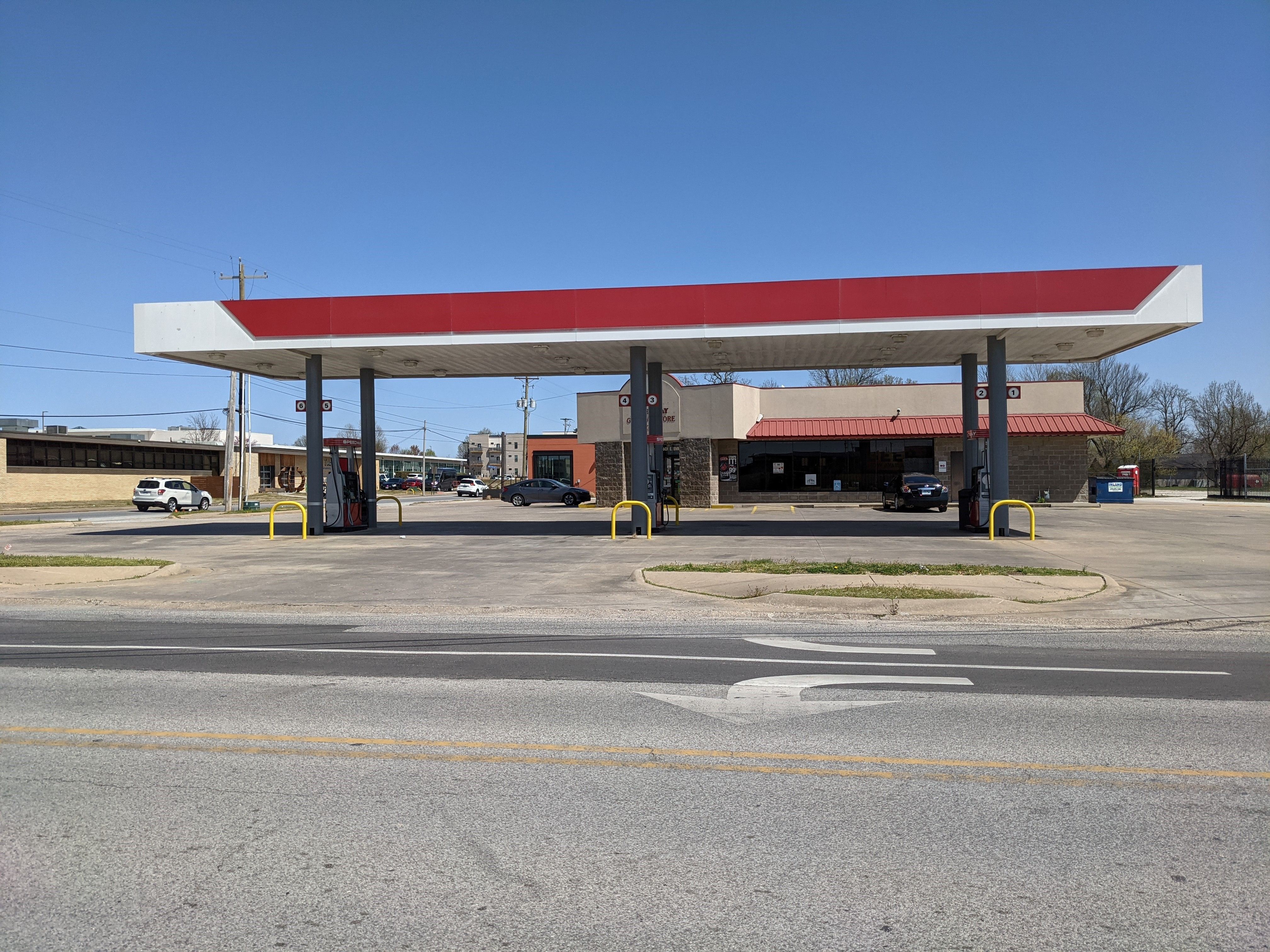 Gas Station with Prime Real Estate in Redeveloping Downtown