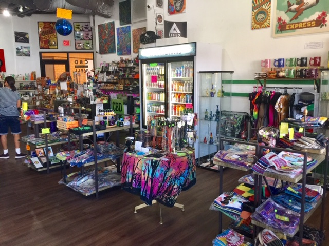 CBD Retail Store With Tourist Gift Items in Palm Springs
