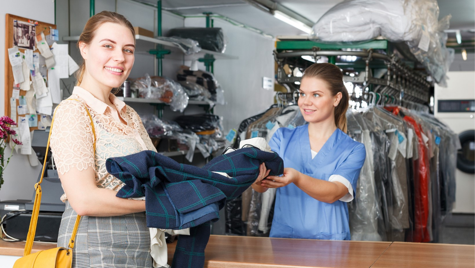 Well Established Dry Cleaning Business for Sale - 390717-AS