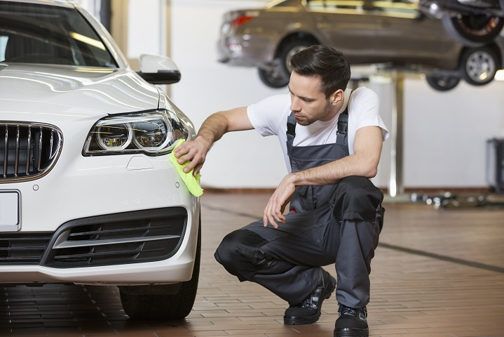 Auto Repair Shop with Sales Climbing