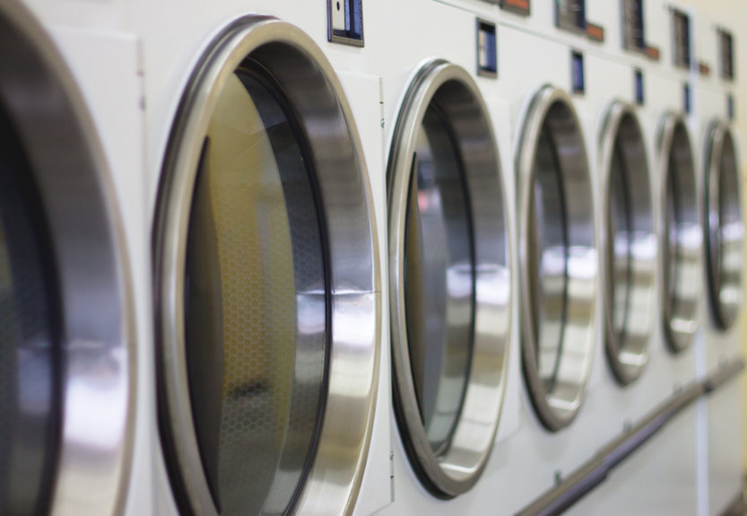 Coin Laundry And Dry Cleaning Combo