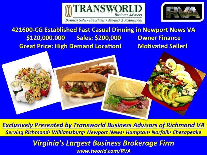 421600-CG Established Causal Dinning  in Newport News