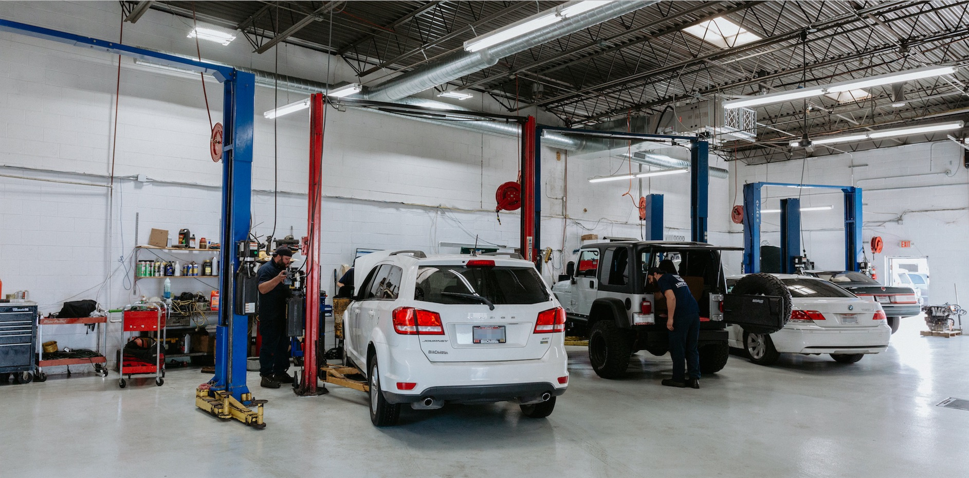 State of the Art Complete Auto-Truck Repair facility-Suffolk Co
