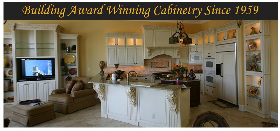 Award Winning Custom Cabinet Manufacturer