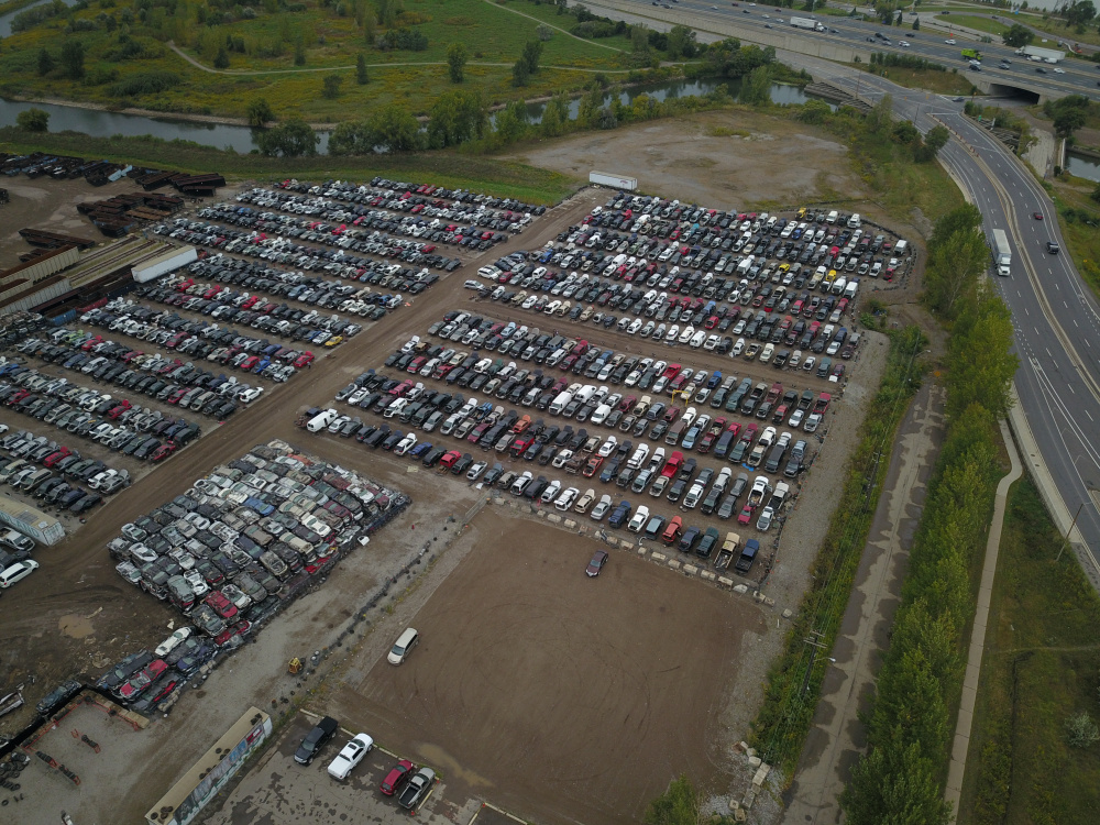 4.5 Acre Auto Dismantler and Wrecking Yard in Stanislaus County