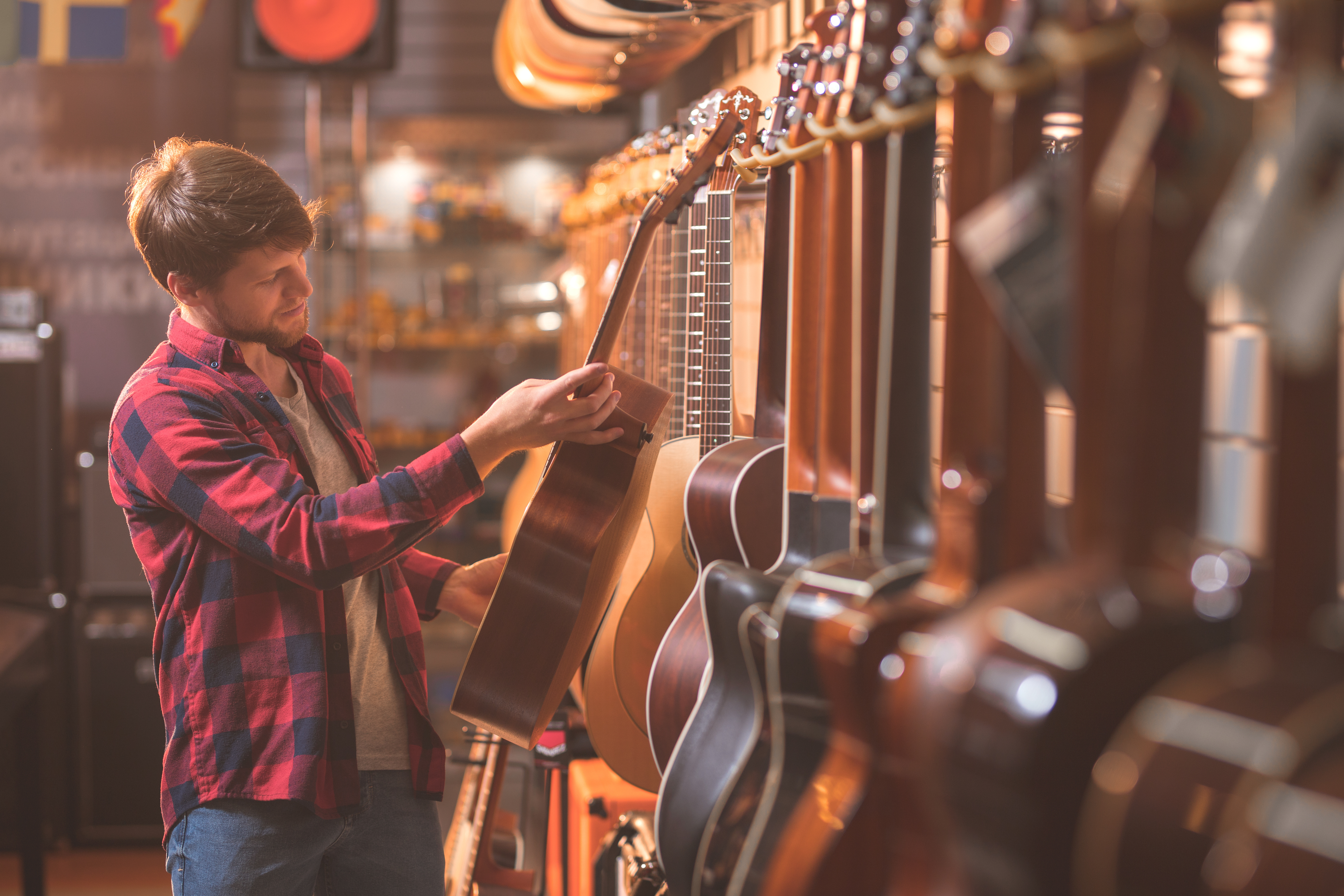Successful Retail Music Store with Little Competition